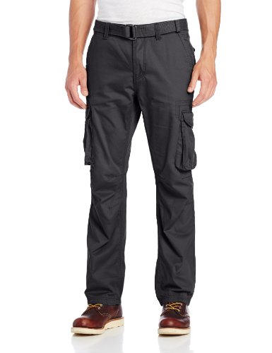 Company 81 Men's Twill Cargo Pants,Charcoal Heather,32x30