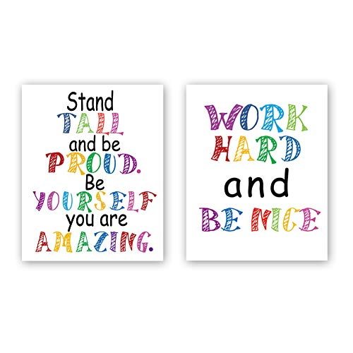 Chsdec Watercolor Inspirational Motivational Typography product image