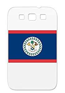 Belize Black Protective Case For Sumsang Galaxy S3 The Carribbean Countries Flags Flags Cities Flag Of Belize Central America