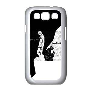 Death Note F8Q2To Funda Samsung Galaxy S3 9300 caja del teléfono celular funda blanca T5D9TI funda de plástico transparente caja del teléfono celular