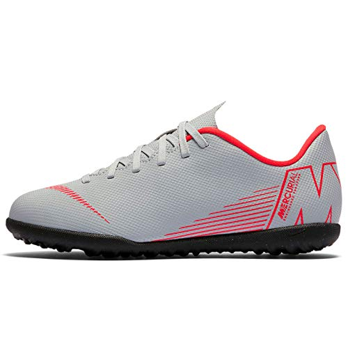 Adulto Lt Black Gs Calcetto Vapor 060 Grey Nike Scarpe Indoor Jr Tf – 12 Unisex Crimson Da Club Multicolore wolf qaUII71Fwn