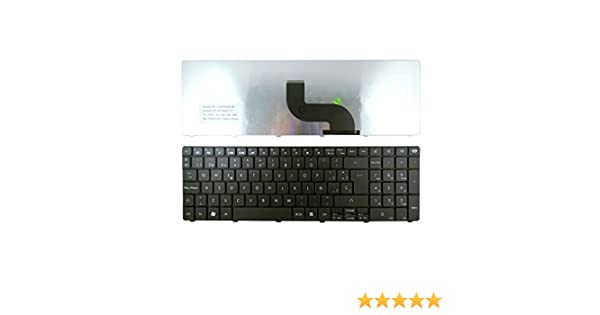 Portatilmovil - Teclado para Packard Bell EasyNote TE69KB TE69KB-1145 MS 2384 MP-09G36E0-442W