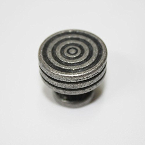 25 pcs Antique Pewter 21mm Knobs Mini Box Dresser Cabinet Drawer Pulls SDKU_0605 by JC Handle (Image #3)