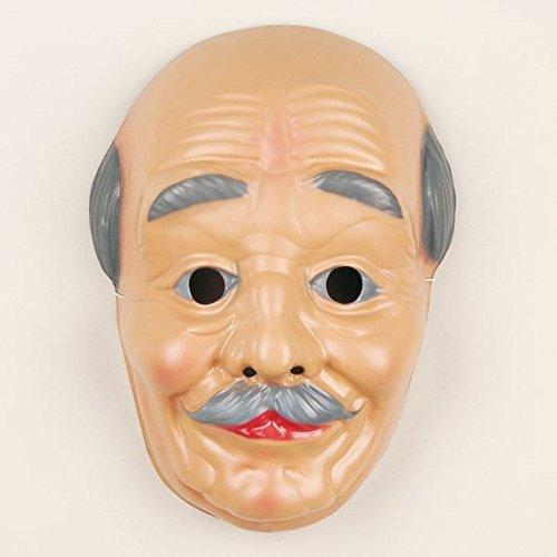 Gesichtsmaske Alte Frau Karneval Fasching Maske Oma