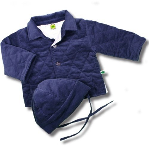Amazon.com  Baby Corduroy Quilted and Satin lined Jacket and ... f71150f09b5