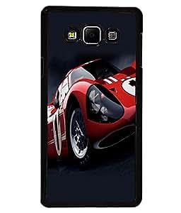 printtech Car Superfast Back Case Cover for Samsung Galaxy A7::Samsung Galaxy A7 A700F