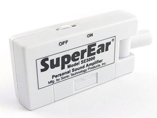 SuperEar-Sonic-Ear-Personal-Sound-Amplifier-Model-SE5000-Increases-Ambient-Sound-Gain-50dB-facilitates-CMS-MDS-30ADAACA-Section-1557-Auxiliary-Aid-Compliance