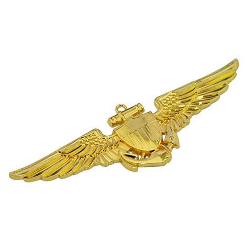 Patriot Accessories Naval Aviator Metal Auto Emblem ()