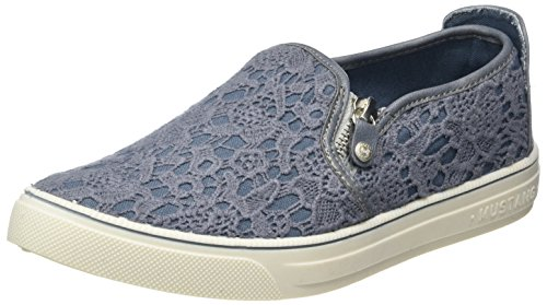 clearance fake Mustang Women's 1217-404 Loafers Blue (875 Sky) clearance extremely fashion Style for sale m2cYJXXWkg
