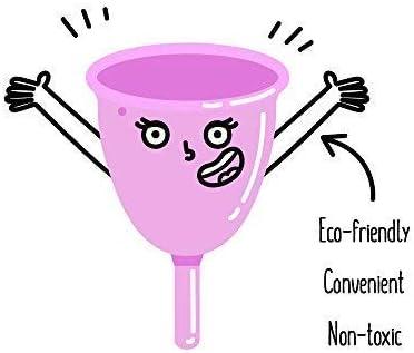 Taza menstrual, taza reutilizable para periodo, tampón y almohadilla alternativa, copa menstrual, sin fugas, sin olores, tazas menstruales, ...