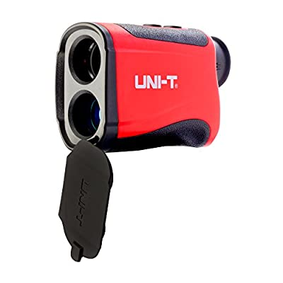 LEAGY UNI-T LM600 Laser Rangefinder, Digital Laser Distance Meter with Built-in Rechargeable Lithium Battery and Micro-USB Charging Port that Measures Up To 656 Yards for Golf, Hunting, Surveying