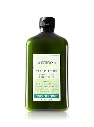 Bath and Body Works Aromatherapy Stress Relief Eucalyptus Spearmint Body & Shine Conditioner -