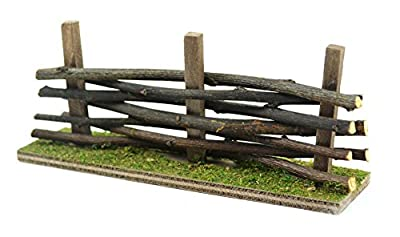 Touch of Nature 1-Piece Miniature Garden Wooden Fence, 5.5 by 14-Inch