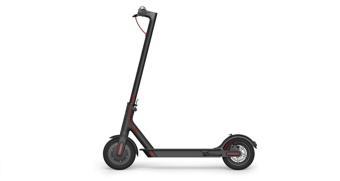 Xiaomi Mi Scooter Eléctrico con Alcance de Km Negro