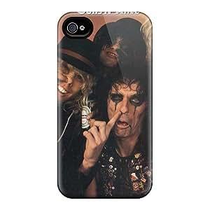 AlissaDubois Iphone 4/4s Shock Absorption Hard Cell-phone Cases Custom Vivid Guns N Roses Pattern [JdC4127lqkN]
