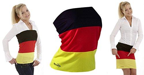 TOP ROCK Deutschland universal M Elastan Damen Trikot Fussball Olympia Fanartikel Fan WM sexy Shirt Fahne KBV