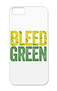 Bleed Green Bay Sports Football Case Cover For Iphone 5c Bleed Green