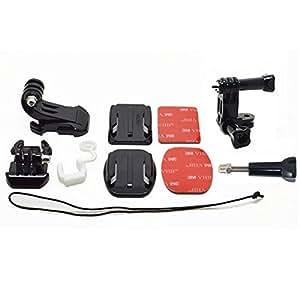 ARBUYSHOP Gopro Accesorios Kit de cámara Tethers Surf Tabla de Surf Surf monta montaje para GoPro héroe 3+ 4 XIAOMI Yi SJCAM SJ4000 SJ5000