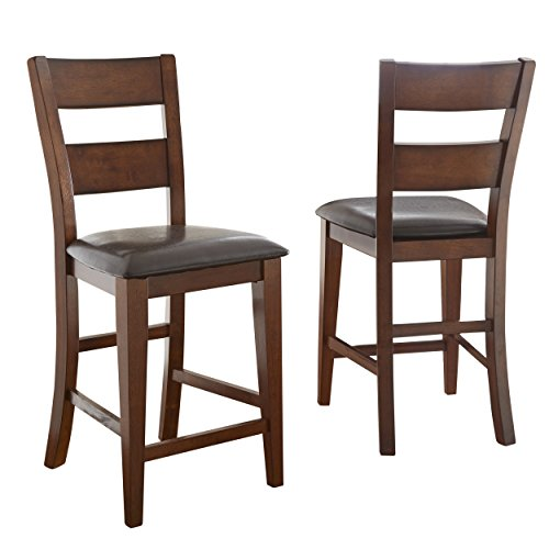 Steve Silver Company Zappa Counter Chair, Set of 2 (Furniture Sets Dining Mango)
