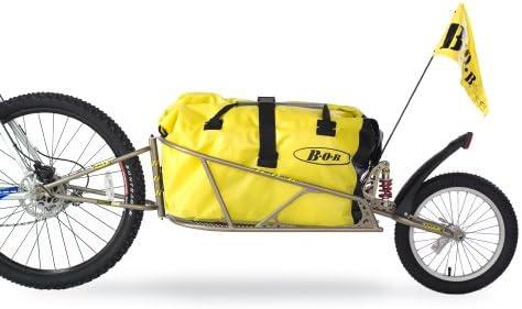 """BOB Fahrrad Anhänger für 28"""" mit Tasche und Schnellspanner """"IBEX"""", gold, 28"""""""