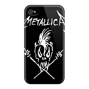 New Style 4/4s Protective Cases Covers/ Iphone Cases - Metallica