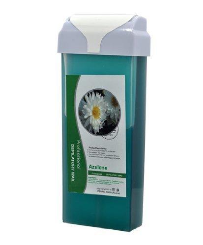 Roll-On Depilatory Wax Cartridge AZULENE Sensitive Skin Waxing Hair Removal