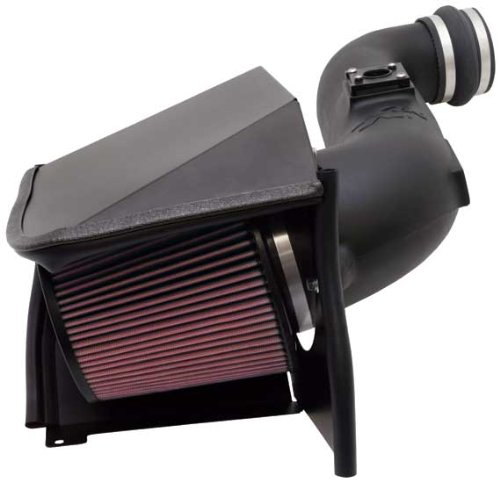 1. K&N Performance Cold Air Intake Kit 57-3057 with Lifetime Filter for 2005-2007