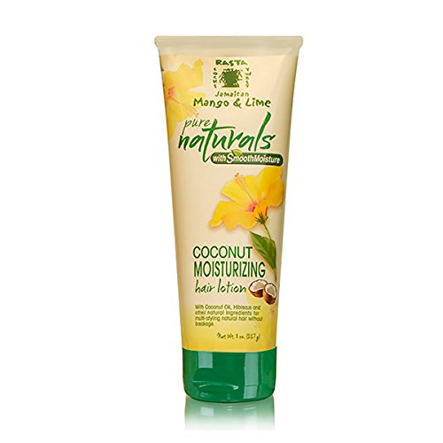 Jamaican Mango & Lime Pure Naturals With Smooth Moisture Coconut Moisturizing Hair Lotion, 8 Ounce ()