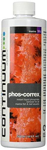 Continuum Aquatics ACO30560 Phosphate Corex Liquid Phospherous Rem for Aquarium, (Liquid Phos)