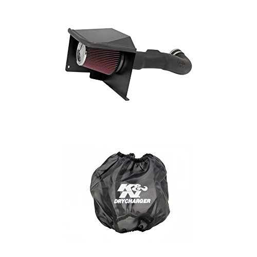 K&N 57-3070 Performance Air Intake System with Black Air Filter Wrap
