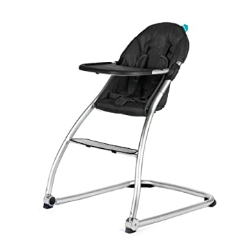 Baby Home Eat High Chair - Black