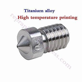 Amazon.com: 5 boquillas de aleación de titanio de alta ...