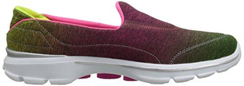 Go 38 de Deporte Walk Skechers Aura 3 Zapatillas Rosa para 5 Mujer Talla Color d6Y7w6