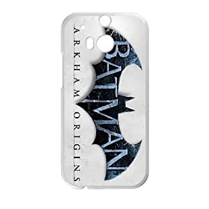 batman arkham origins 2 HTC One M8 Cell Phone Case White Tribute gift pxr006-3898145