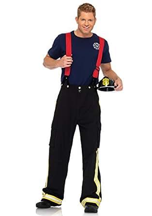 Leg Avenue Mens Fire Captain Costume Small/Medium