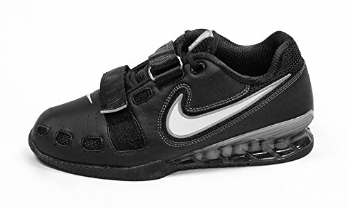 Nike Romaleos II Power Lifting Shoes - Black/White/Cool Grey (11.5) (Nike Lifting Shoes)