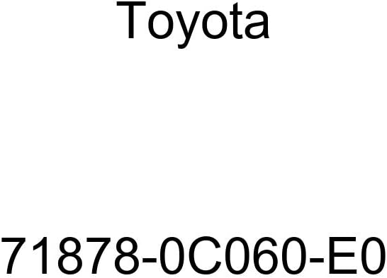 TOYOTA 71878-0C060-E0 Seat Reclining Cover