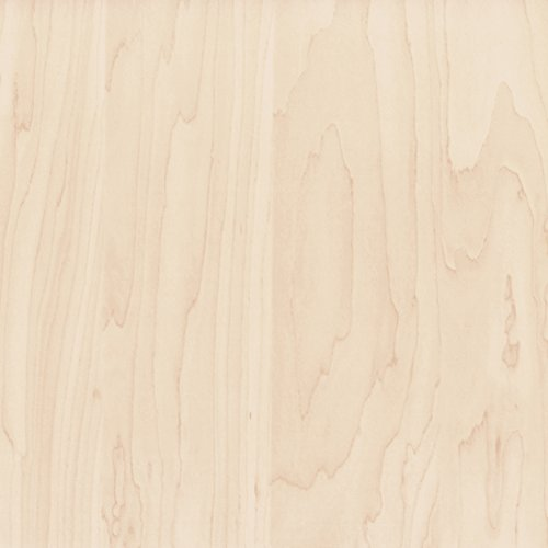 Venilia Perfect Fix Decorative Adhesive Film Furniture Film Sticky Back Plastic Self Adhesive PVC No Air Bubbles, Natural Wood Finish, Maple 1 m 54300 90 cm x 2, Brown, 210 x 90 cm