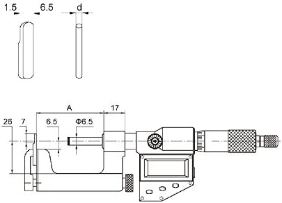 "52-252-001 Fowler Precision 0-1/"" Multi-Anvil Micrometer .0001/"""