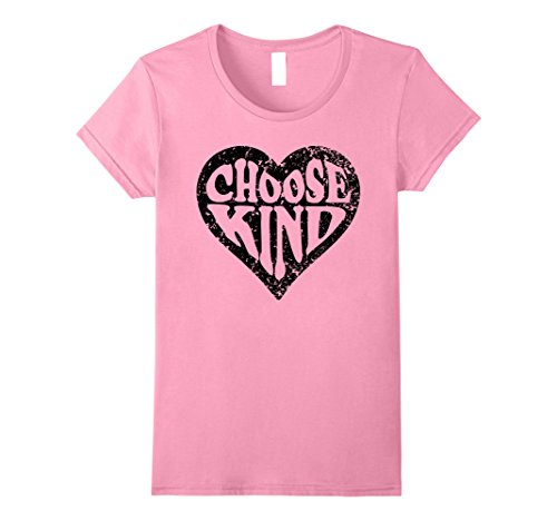 Womens Choose Kind Shirt Anti Bullying Choose Kind Movement tshirt Large - Day When Is Pink National
