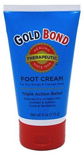 Gold Bond Foot Cream Triple Action Relief 4oz (Pack of 3) by Gold Bond