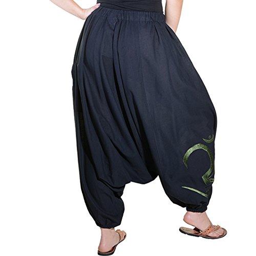 Taille Sarouel Army Schwarz Kunst Magie Und Unique Pantalon Green Femme q7WWSFpgw