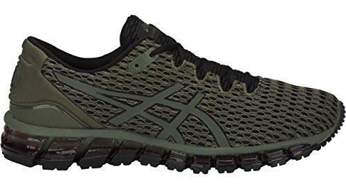 Image of ASICS T839N Men's Gel-Quantum 360 Shift MX Running Shoe, Four Leaf Clover/Black/Black - 10.5