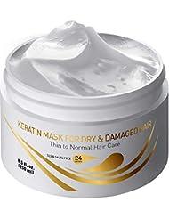 Vitamins Keratin Hair Mask Deep Conditioner - Thin Fine...