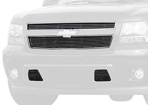 (Carriage Works 43022 Polished Billet Aluminum Upper Grille Insert)