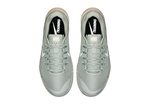Green Compétition Femme guava Ice Running Silver mica 007 WMNS Chaussures de 4 Light Nike Multicolore Metcon White 4qnZTY
