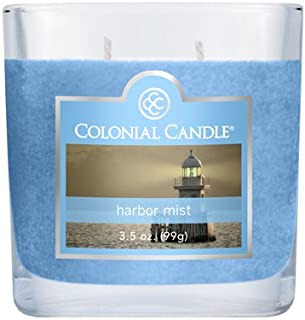 product image for Colonial Candle 3-1/2-Ounce Scented Oval Jar Candle, Harbor Mist