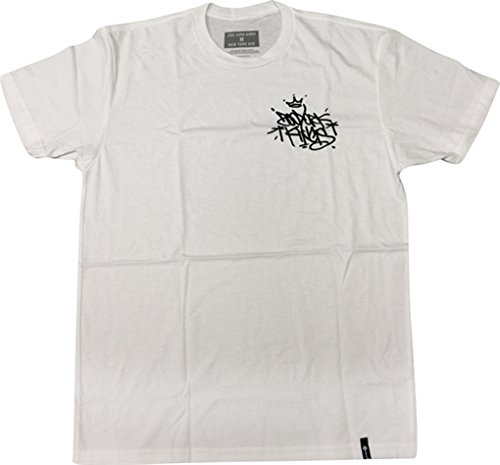 Zoo York Skateboards Kings Tag White Men's Short Sleeve T-Shirt - Medium by Zoo York