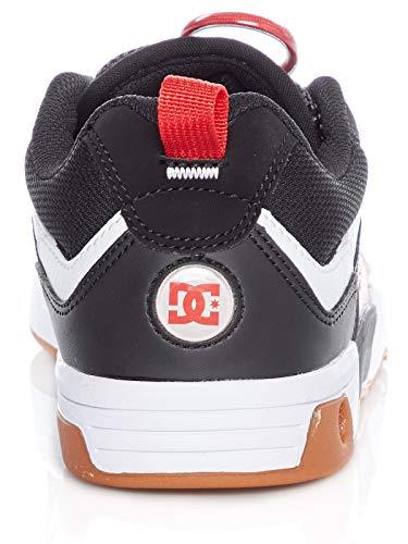 Dc Nero Slim 40 eu 5 Nero rosso Scarpa 8 bianco Legacy Us 98 Cqw1Cr