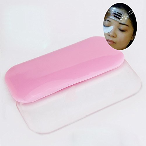 Melleco 10pcs Silicone False Eyelash Holder Pad Stand for Lash Extensions Beauty Tool Adhesive Pallet